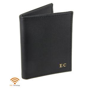 porte-cartes-cuir-4-cartes-porte-billets-noir-cuir-protection-carte-sans-contact-rfid-init