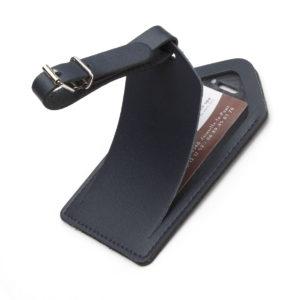 porte-etiquette-pour-bagage-bleu-marine-cuir